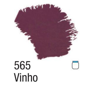 TINTA ACRÍLICA FOSCA 60ML 565 VINHO ACRILEX