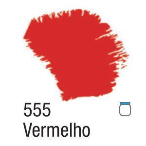TINTA ACRÍLICA FOSCA 60ML 555 VERMELHO ACRILEX