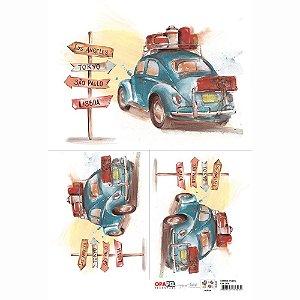 OPAPEL 30X45 - CARROS FUSCA