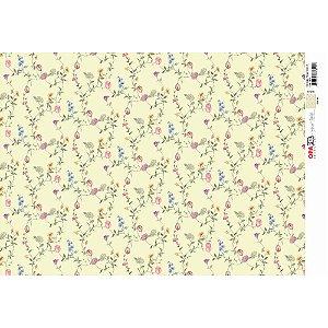 OPAPEL 30X45 - ESTAMPA FLORES MICRO II
