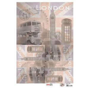 OPAPEL 30X45 - CIDADES LONDRES