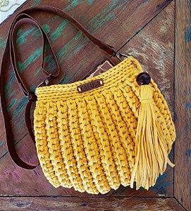Bolsa Concha Amarela