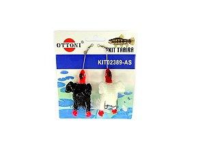 Isca Silicone Franguinho 02389 Cartela c/ 2 Unidades - Ottoni