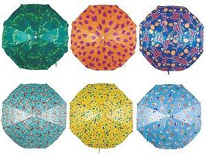 Guarda Sol Fashion Trendy 1,80m Cores Sortidas - Mor