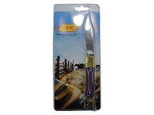 Canivete Inox Cabo de Acrílico - Cimo