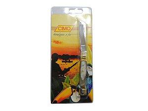 Canivete Inox 210/3 Cabo de Latão e Chifre - Cimo