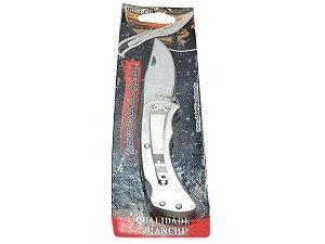 """Canivete Inox 3"""" c/ Trava - Bianchi"""