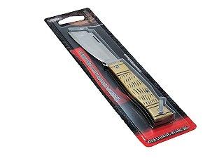 "Canivete Tradicional Cabo de Metal 3 1/4"" - Bianchi"