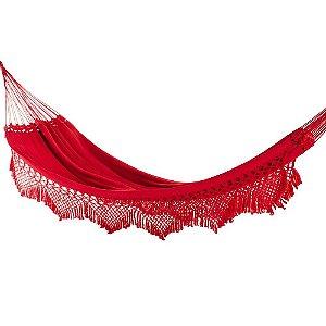 Rede Casal Luxo cor Vermelho