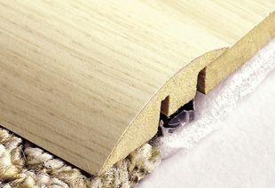Durafloor Acabamento perfil de porta redutor na cor Cerezo Carmel * preço por barra com 2,10 metros lineares