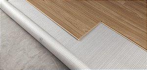 manta Duratex reciclada para piso laminado Durafloor - preço por metro quadrado - fica embaixo do piso laminado