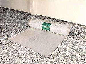 manta eucatex para piso laminado eucafloor - preço por metro quadrado - fica embaixo do piso laminado
