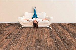 Piso Laminado Eucafloor New Elegance encaixe 2G novo CLICK Canyon Black Oak - preço por caixa com 2,77 m²