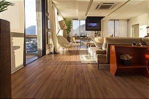Piso Laminado Eucafloor New Elegance encaixe 2G novo CLICK Carvalho Chamonix - preço por caixa com 2,77 m²