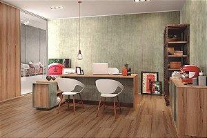 Piso Laminado Eucafloor New Elegance encaixe 2G novo CLICK Delicato Ash - preço por caixa com 2,77 m²