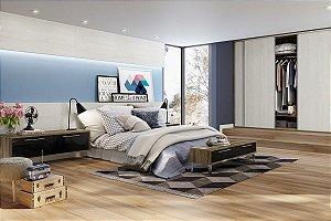 Piso Laminado Eucafloor New Elegance encaixe 2G novo CLICK Elmo  Macciato- preço por caixa com 2,77 m²