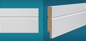 Rodapé Duratex em MDF Ultrarresistente essencial e-03 10cm preço por barra com 2,10 metros lineares