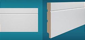 Rodapé Duratex em MDF Ultra Resistente essencial e-03 15cm preço por barra com 2,10 metros lineares