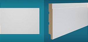 Rodapé Duratex em MDF Ultrarresistente essencial e-06 15cm preço por barra com 2,10 metros lineares