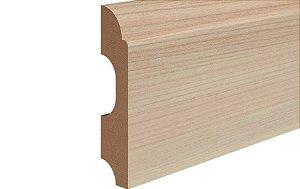 Rodapé Modelo Clean com 8 cm Duratex Durafloor na cor Cerezo Carmel * preço por barra com 2,10 metros lineares