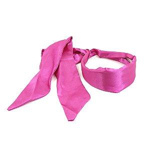 Tiara em Cetim Pink