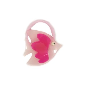 Rabicó Peixe de Acrílico Rosa