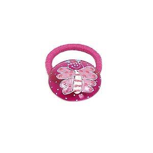 Rabicó de Cabelo Pink com Desenho