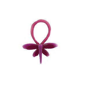 Rabicó de Cabelo de Libélula Pink
