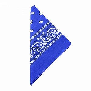 Lenço Tipo Bandana Azul Bic