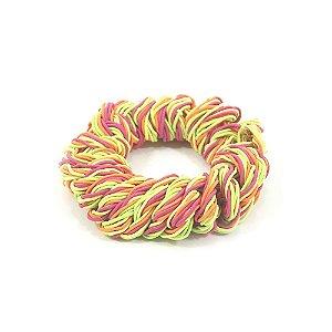 Scrunchie Colorido Neon de Fios