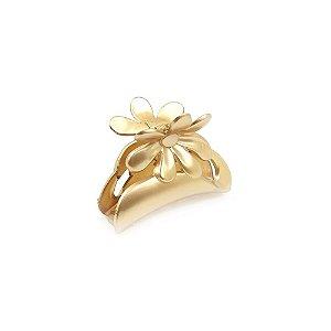 Piranha Dourada com Flor