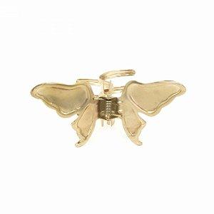 Piranha de Metal Borboleta Dourada