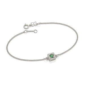 Pulseira Fio Grumet Diamantada Rommanel