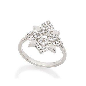 Anel Skinny Ring Formato Flor Rommanel