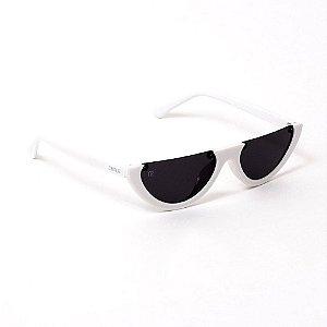 Óculos de Sol Future Meia Lua Branco