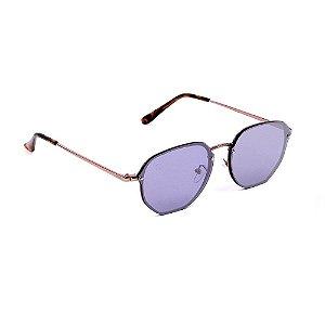 Óculos de Sol Classic Espelhado e Rosé