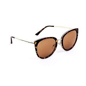 Óculos de Sol Estilo Gatinha Tartaruga
