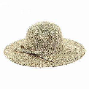 Chapéu de Praia Aba Larga e Laço