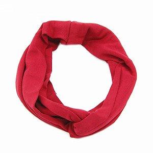Headband Turbante Vermelha
