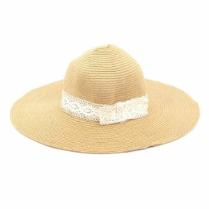 Chapéu de Praia com Renda