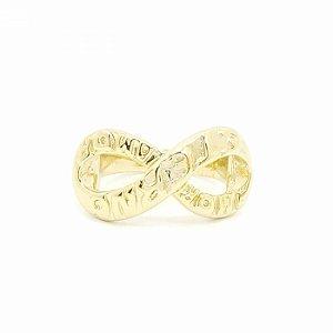Anel Dourado Amor Eterno