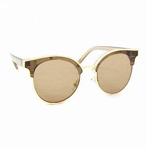 Óculos de Sol Gatinha Style Marrom
