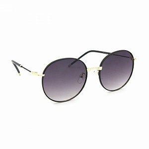 Óculos de Sol Classic Redondo Preta