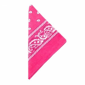 Lenço Tipo Bandana Pink