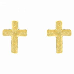 Brinco Dourado de Cruz