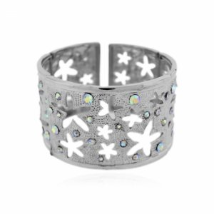Pulseira Bracelete Estrela e Strass
