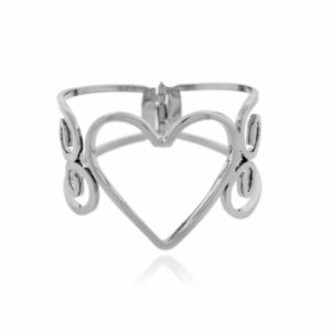 Pulseira Bracelete Corações