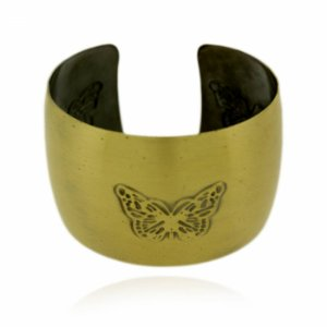 Pulseira Bracelete Borboleta Dourada
