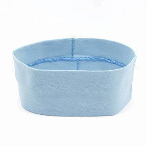 Faixa Larga de Cabelo Azul Bebê