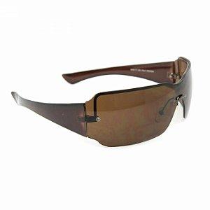 Óculos de Sol Marrom Unisex